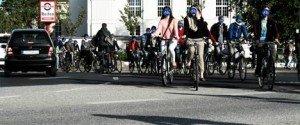 Erfolgreiche Fahrraddemo für die Diagonalquerung