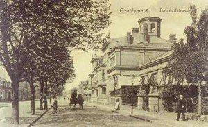 Historische Bahnhofstraße und das Wirrwarr mit den Umbenennungen