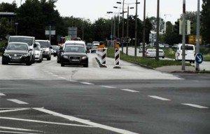 Diagonalquerung: Verkehrsversuch wird verlängert