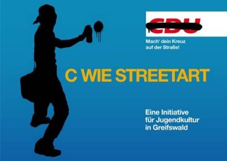 cdu streetart