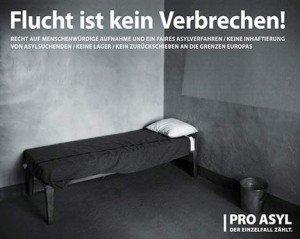 pro asyl plakat