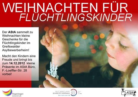 weihnachten für flüchtlingskinder
