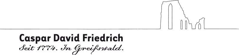 Neues Logo soll Greifswald und Caspar David Friedrich fest verbinden