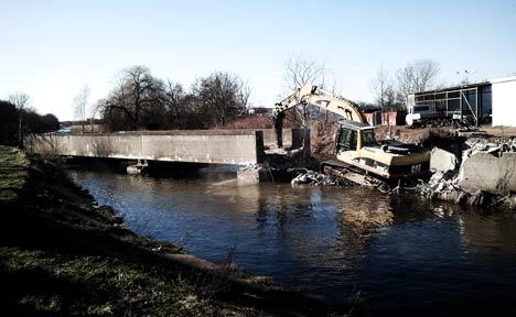 Unfreiwillige Sanierung des Bahngleises Greifswald-Ladebow