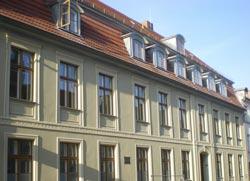 renovierte Fassade der Anglistik