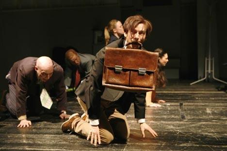 Bandscheibenvorfall Theater Vorpommern