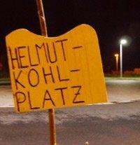 Helmut Kohl Platz Greifswald