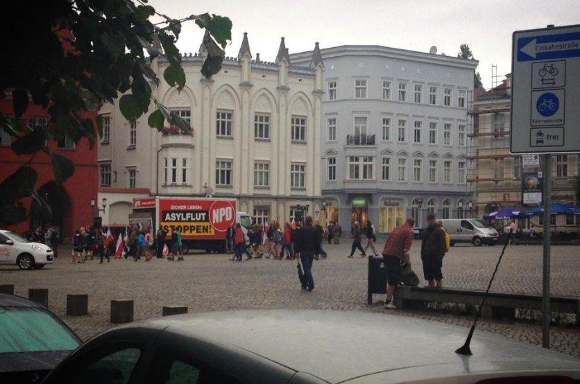 Asyltour NPD Greifswald