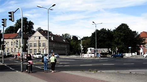 Europakreuzung Umgestaltung Greifswald