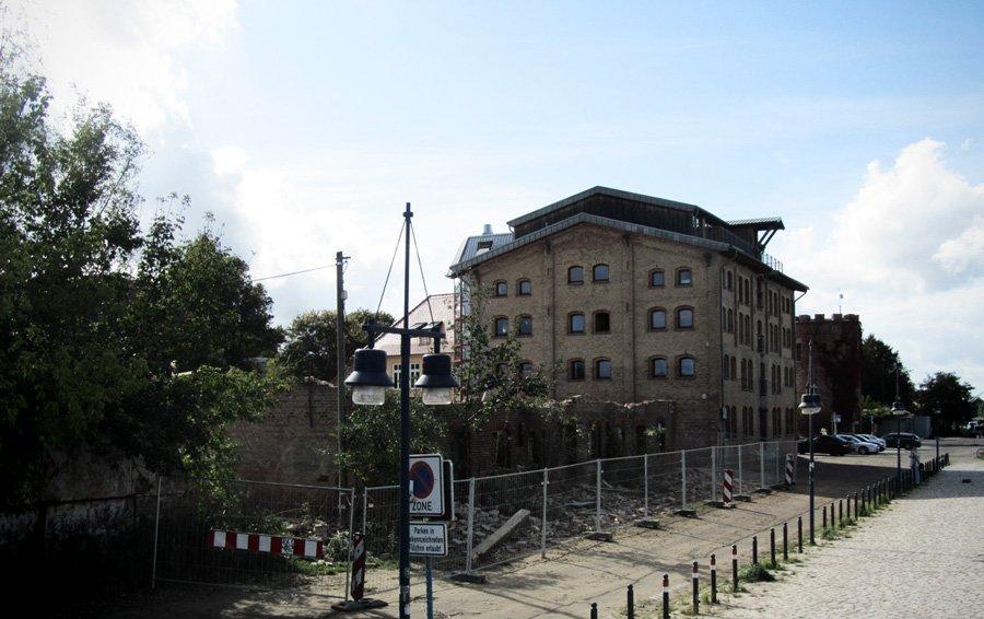 Museumshafen Abriss Greifswald