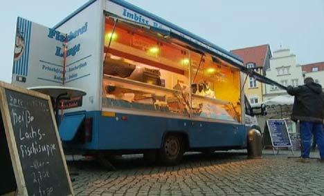 Fischverkäuferin Frau Lange aus Greifswald