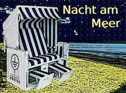 Nacht am Meer Talk im Strandkorb Titelbild