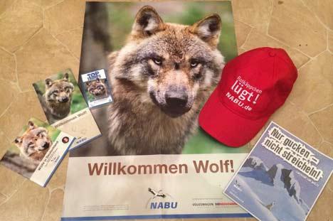 Wolfspaket vom NABU für Lionels Adventskalender