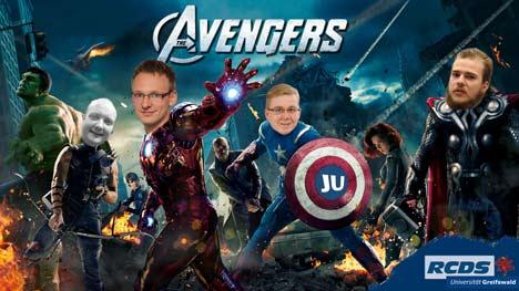 Democratic Avengers Konservative Liste Senatswahl Greifswald Universität