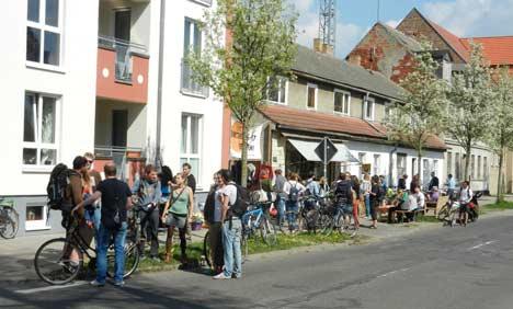 Ensemble Brinkstraße 16-17 in Greifswald