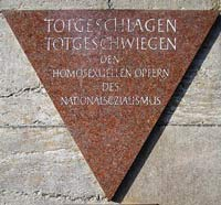 Verfolgte Homosexuelle im Nationalsozialismus, Mahnmal in Berlin