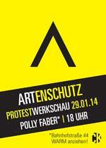 Polly Faber Artenschutz Ausstellung gegen Kürzung an der Universität Greifswald