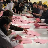Stimmenauszählung nach der Greifswalder Gremienwahl