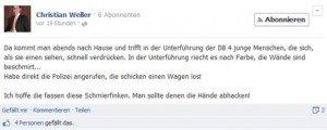 Entgleist: Geschäftsführer der CDU-Fraktion verursacht mittelschweren Internetunfall