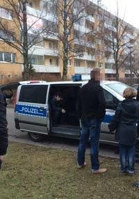 Abschiebung von zwei Tschtschenen aus der Gemeinschaftsunterkunft in Greifswald