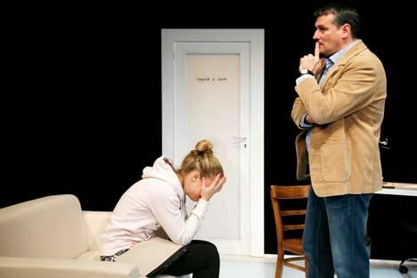 Theater Vorpommern: Oleanna ein Machtspiel