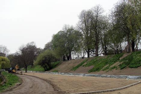 Sanierung des Walls in Greifswald