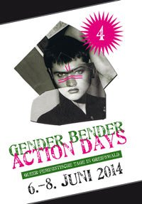 Programmheft der Greifswalder Gender Bender Action Days