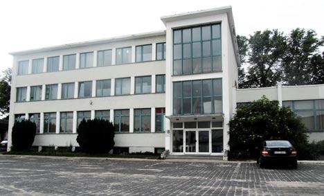 RoSa WG im ehemaligen Witt-Call-Gebäude in Greifswald