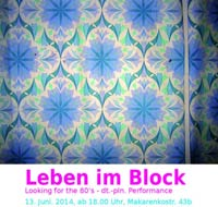 Kunst im Block Flyer
