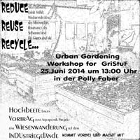 Workshop Urban Gardening Greifswald