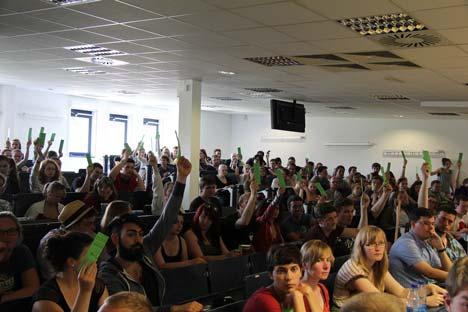 Vollversammlung der Greifswalder Studierenden