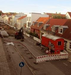 Baustelle rückt vor — Gützkower Straße bald komplett dicht