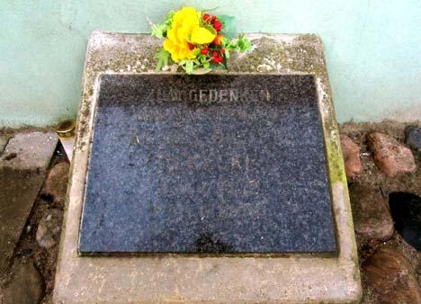 Gedenkstein Klaus Dieter Gerecke