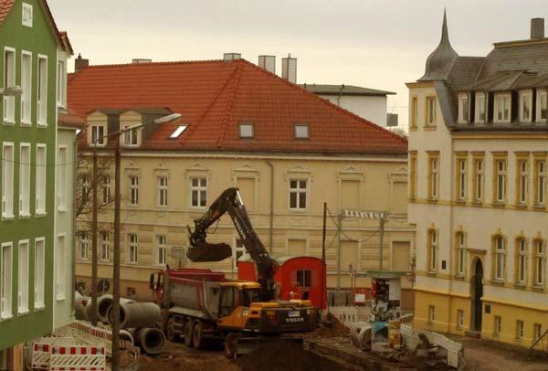 Sanierung Gützkower Straße Greifswald
