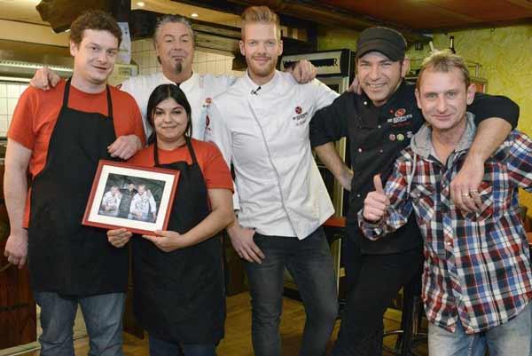 """Heiß und fettig: Kochprofis möbeln das """"Al Max's Diner"""" in Greifswald auf"""