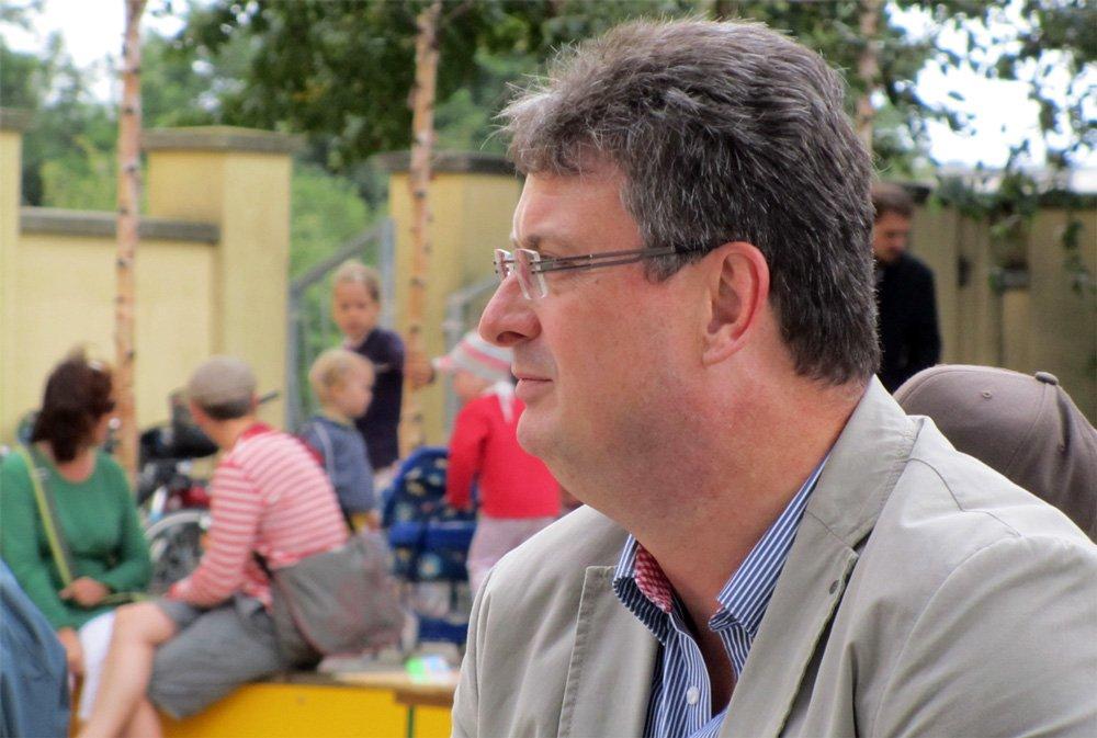 OB-Kandidat Jörg Hochheim (CDU)