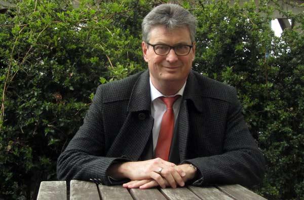 Oberbürgermeisterkandidat Jörg Hochheim Greifswald