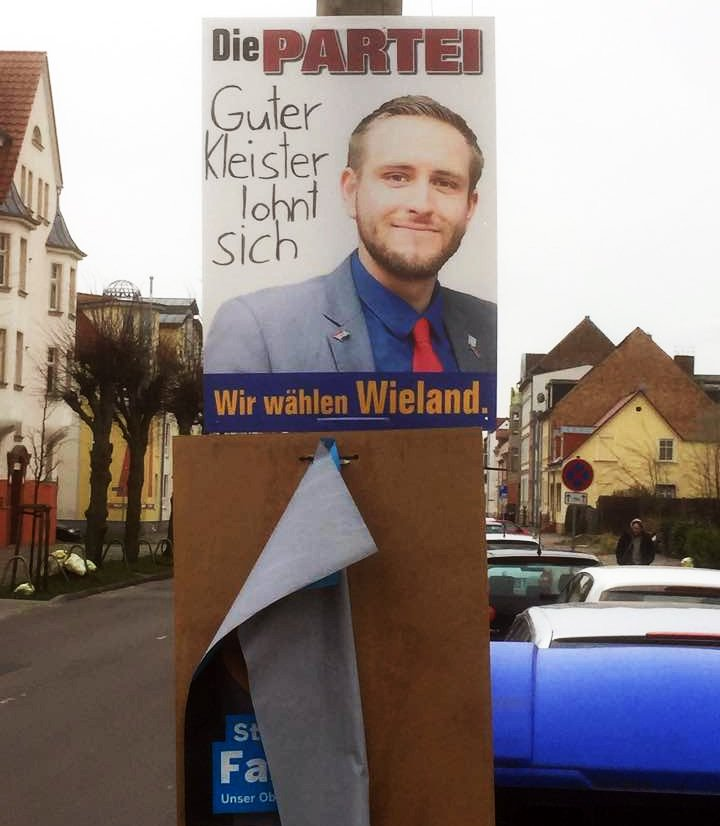 wahlplakat Björn Wieland Greifswald