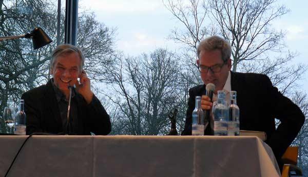 Lutz Seiler und Eckhard Schumacher im Pommerschen Landesmuseum-hiller600