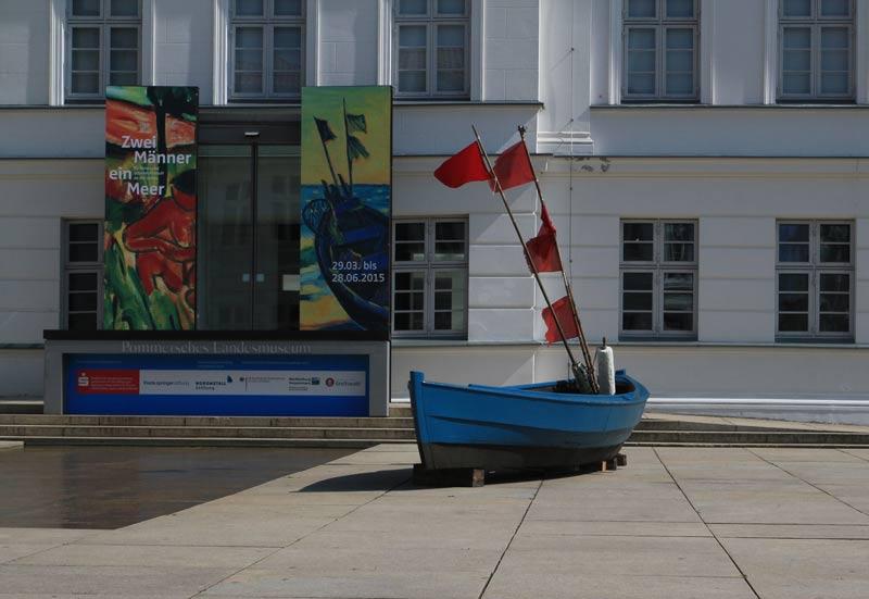 """Kunstpause: """"Zwei Männer – ein Meer"""" im Pommerschen Landesmuseum"""
