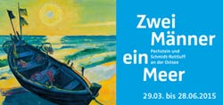 Zwei Männer - ein Meer