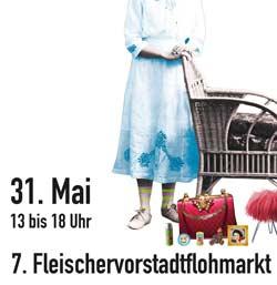 Fleischervorstadt-Flohmarkt 2015: Infos und Laufplan