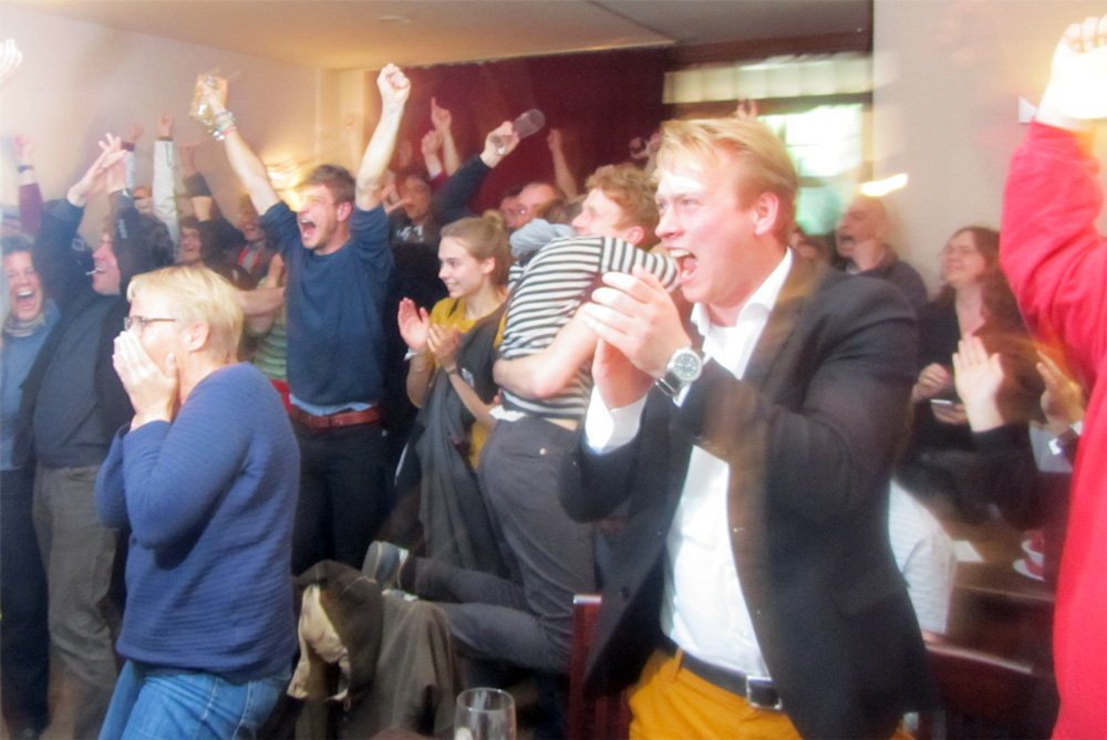 Wahlparty Greifswald