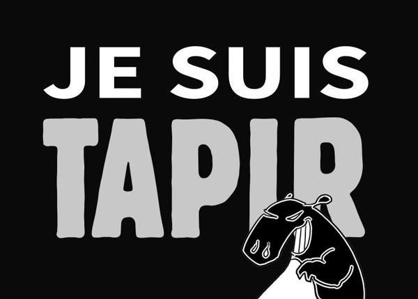 je suis tapir