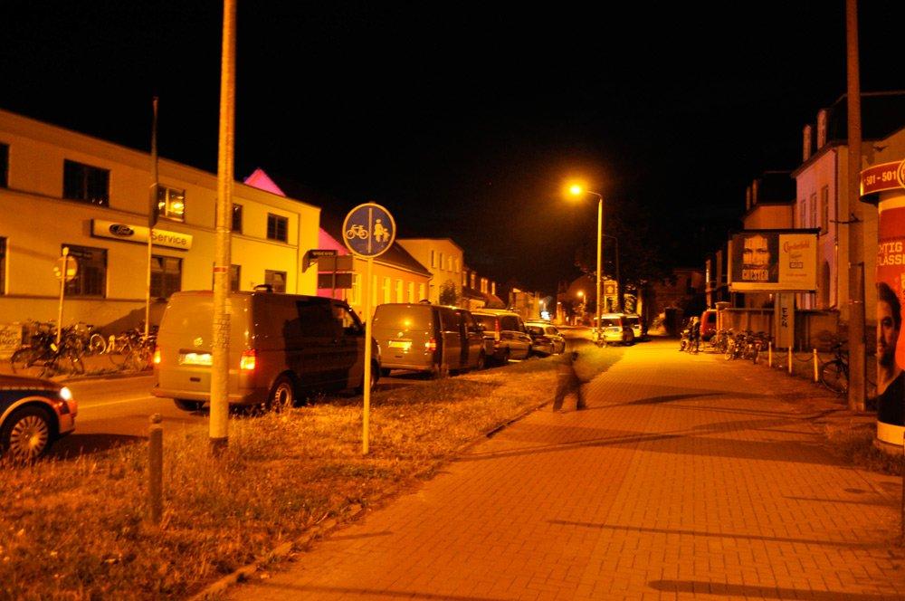 Polizeieinsatz Greifswald