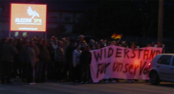 asylgegner greifswald europakreuzung