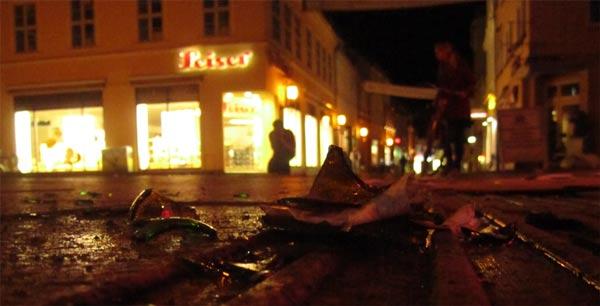 Wutbürger demonstrieren in Greifswald, Polizei versagt skandalös