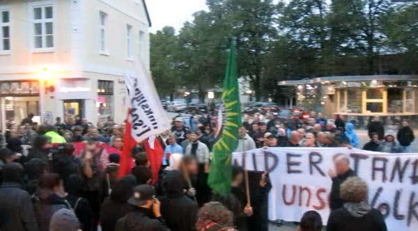 asylgegner greifswald konfrontation