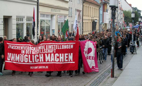 refugees welcome demo greifswald