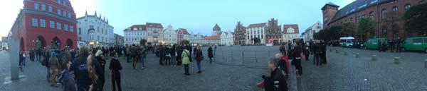 panorama demo markt greifswald